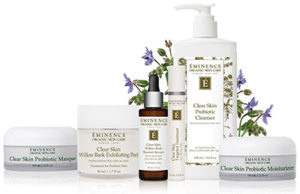 Eminence Clear Skin Products at Lustre Boutique